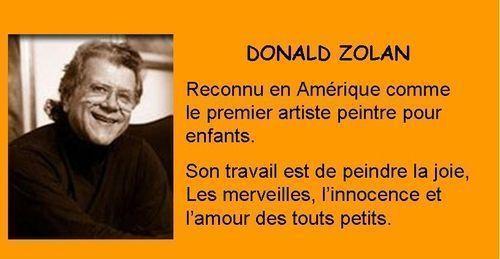 147 PEINTURE DONALD ZOLAN