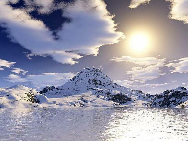 paysage blanc